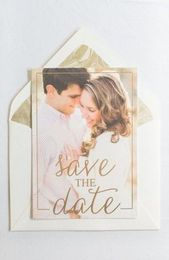 53+ Trendy Wedding Invitations Gold Foil Save The Date
