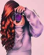 Girl in photography oxox curly hair ❤ ❤ ❤ love girly things … – – #curly…