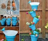 DIY Bird Bath Planter With Video Instructions  #Bacafleurspourlete #Havredepai