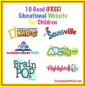 FREE Educational Apps for Kids #Education website FREE Top 14 Educational Websites for Kids
