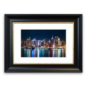 East Urban Home Framed Poster Reflections from the Big Apple | Wayfair.de