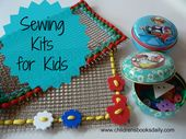 Stitching Kits and Stitching Books for Kids
