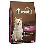 4health Grain Free Duck Potato Formula Dog Food 30 Lb Bag