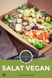 Salat frisch bestellen Salat Salat, Salatrezepte, Salat einfach, Salat id …   – Salat Ideen