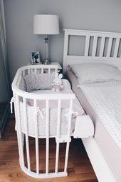 Mädchen Kinderzimmer jetzt auf saansh.comNurseryinspo – Babyzimmer – Kinderzimmer – Mädchenzimmer – Kinderzimmer – Mädchenzimmer – Babybay – Miffy – Schlafzimmer – Einrichtungsideen – Zukunft