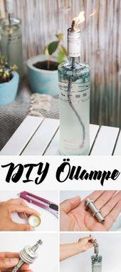 » Eine Öllampe ganz einfach selber machen – DIY Anleitung!