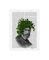 Fab Funky Ivy Head, Plant Head Canvas Art – 27 x 33.5