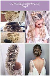fantastische Hochzeitsfrisuren halb hoch halb runter #CornrowsHalf #AwesomeWomen Brautfrisuren