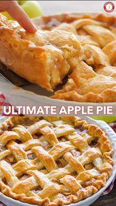 Apfelkuchen Rezept mit der besten Füllung!