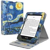 TiMOVO Case for Kindle Paperwhite E-Reader 10th Generation 2018 Release Vertical Protective Case with Multiple Perspectives and Pocket Auto Sleep / Expense …