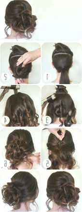 31+ hairstyles for long hair to make yourself – top fashionable dresses #frisuren #frisuren #frisurenfestliche #fr #Haare