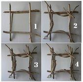 Ein Tutorial zum Erstellen eines Stick-Style-Spiegels in Treibholz