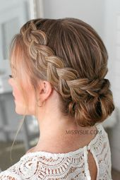 Double Dutch Braids Updo »Hairstyles 2020 New hairstyles and hair colors – #double # hairstyles #hair colors #Hollandian #z