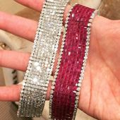 Best Diamond Bracelets : Obsessed with these super flexible, super sparkly diamo…