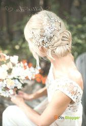 """Boho Blatt Blume Braut Haar Rebe Zubehör, """"Emmaline"""" –  Hochzeitsideen – Pin Bl…"""