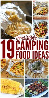 28 idées de plats de camping irrésistibles   – Camping Ideas