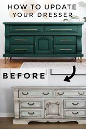 DIY Dresser Makeover   – DIY