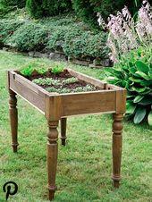 Ein kleines Hochbeet bauen – perfekt für Balkon und Terrasse   – Anbau