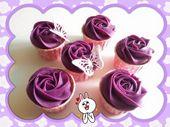 Sweet Purple Potato Cupcakes   Makes 12 pcs (thx to Esther Koo) – FB baking'…