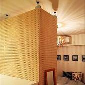 賃貸でも可 有孔ボード 無印良品で壁面収納を楽しむ Diy ホーム 自宅で インテリア 収納
