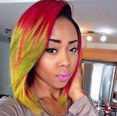 55 Swaggy Bob Frisuren Schwarze Frauen werden es lieben zu tragen – Meine neuen Frisuren