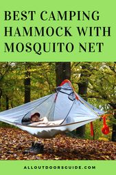 10 Best Camping Hammocks With Mosquito Net 2019 Best Camping Hammock Hammock Camping Camping Gear