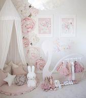 Baby Girl Nursery Inspiration   – Interior Design