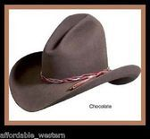 Cowboy Lonesome Dove Western BLACK ~ GUS HAT ~ 4X Quality Felt ~ Rodeo King