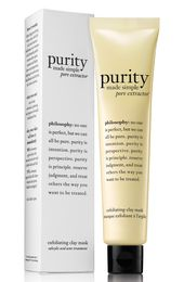 Philosophy Purity Made Simple Pore Extractor Mask, Size 1 oz