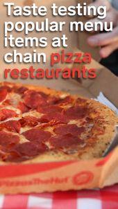 Wir probieren bei Papa John's und Pizza Hut getestete beliebte Menüpunkte, und während Pizza Hut in bestimmten Bereichen ein Gewinner war, verlor es Papa John's insgesamt
