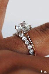 ¡Anillo de compromiso clásico para la novia! #Eheringe   – Über die Ehe