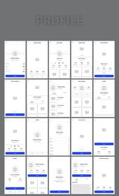 Wirey Mobile Wireframe Kit #boost#simple#creativity#include