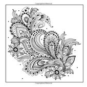 Amazon.com: Adult Coloring Books: A Coloring Book for Adults Featuring Mandalas and Henna Inspired Flowers, Animals, and Paisley Patterns (9780996275460): Coloring Books for Adults: Books