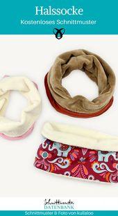 Halssocke für Kinder und Erwachsene