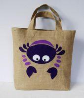 Artículos similares a SOLD Spring Summer Eco friendly  Jute tote handbag /vacat…