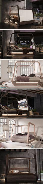 Das HiBed wurde von Hi-interiors entworfen und ist …