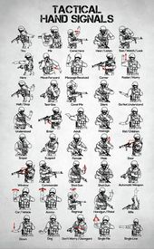 Battle Digital Art – Taktische Handzeichen von Tay…