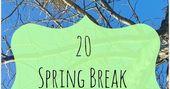 spring break staycation ideas, staycation ideas, spring break at home ideas, spr… – for kids :-)