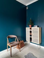 """Ikea """"Ivar"""" hack with hair pin legs and cane doors"""