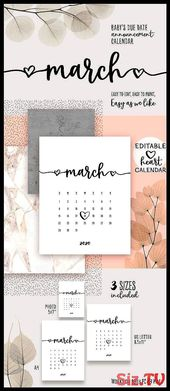 Great Photo 2020 March calendar Tips Printable schedules deliver individuals wit…