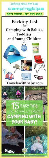 Campinghacks med baby #camping #hacks Camping Hacks mit Baby _ campinghackar och …