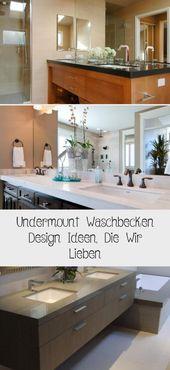 Undermount Sink Design Ideas We Love