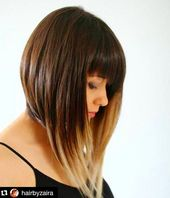 22 Trendy Bob Frisuren mit Pony
