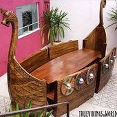 Viking Ship Table – #Ship #table #Viking
