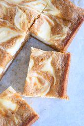 Barras de pastel de queso con pastel de zanahoria en espiral   – Easter