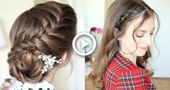 2 Pretty Braided Hairstyle Ideas | Formal Hairstyles | Braidsandstyles12 - #braided #braidsandstyles12 #formal #hairstyle