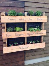Dies sind großartige Ideen, um außerhalb meiner Wohnung einen kleinen Garten für meine Terrasse zu gestalten …   – Garden
