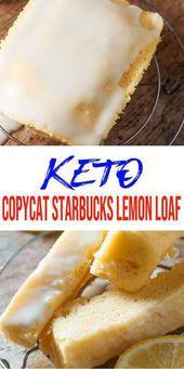 Keto Zitronenbrot! ERSTAUNLICHE ketogene Diät Zitronen-Pfund-Kuchen – einfach …