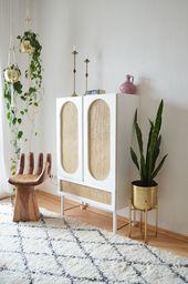 DIY Rattanschrank – IKEA IVAR HACK