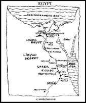 Map Of Egypt For Kid Egypt Printable Coloring Pages Summer - Map of egypt coloring page